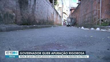 Governador do ES determina apuração rigorosa de morte em Andorinhas - Homem foi morto durante uma operação da Polícia Militar.