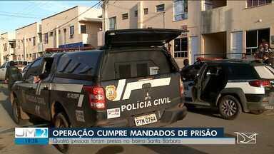 Operação prende suspeitos de envolvimento com facções em São Luís - Os suspeitos estariam extorquindo moradores de um condomínio no bairro Santa Bárbara.
