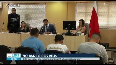 Todos os acusados de participação na chacina do Guamá vão a júri popular, decide Justiça - A decisão foi anunciada na noite da última segunda. Os 8 acusados tiveram a prisão mantida pelo juiz.