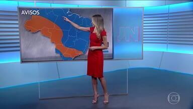 Veja como fica o tempo nesta quarta (18) - Avisos de chuva forte para várias regiões.