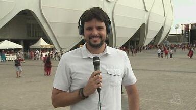 Veja o Globo Esporte AM deste sábado, dia 21, ao vivo da Arena da Amazônia - undefined