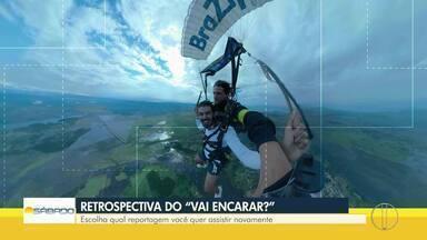 'Vai Encarar?': Confira a retrospectiva 2019 do quadro esportivo com Gustavo Garcia - Assista a seguir.