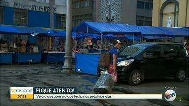 Veja o que abre e o que fecha nos dias entre Natal e Ano Novo em Campinas - Fique atento aos estabelecimentos que suspendem as atividades durante as festas de final de ano.
