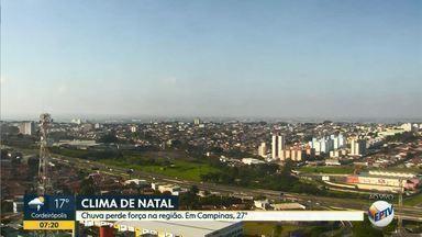 Confira a previsão do tempo para a região de Campinas nesta terça-feira (24) - Veja a temperatura prevista para as cidades da região e se programe.