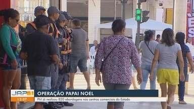 Operação Papai Noel: PM ressalta os cuidados para quem vai as compras no centro de Macapá - Operação Papai Noel: PM ressalta os cuidados para quem vai as compras no centro de Macapá