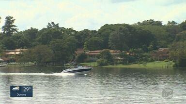 Rifaina, SP, completa 71 anos nesta terça-feira (24) - Cidade é conhecida pelas cachoeiras, córregos e passeios de barco.