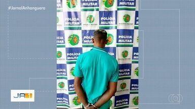 Homem é preso suspeito de roubar celular na Feira Hippie, em Goiânia - Ele tentou se passar por cliente.