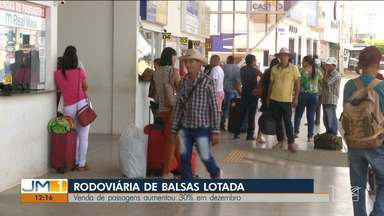 Natal e Ano Novo geram o aumento de vendas nas rodoviária de Balsas - Vendas de passagens aumentou em 40% no mês de dezembro.