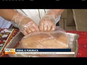 Saiba como preparar um pernil a pururuca - Confira o passo a passo da receita que pode estar na ceia de Natal.