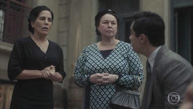 Lola se desculpa com Afonso pela confusão dos filhos - Ela critica Carlos por ter começado a confusão