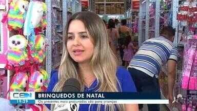 Consumidores lotaram lojas de Juazeiro do Norte na véspera de Natal - Confira mais notícias em g1.globo.com/ce