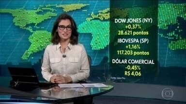 Bolsas de Valores de Nova York e de São Paulo atingem novos recordes de pontos - China e EUA dão sinais de que estão perto de um acordo para acabar com guerra comercial.