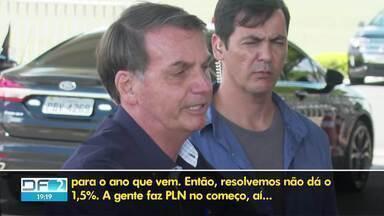 Forças de Segurança do DF não terão mais reajuste - Presidente Bolsonaro desistiu de repassar verba por meio de medida provisória. Governador Ibaneis tinha anunciado 8% de aumento.