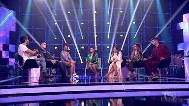 Taís Araújo mostra a continuação da conversa com os finalistas - Confira!
