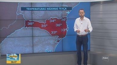 Confira a previsão do tempo para o último dia do ano - Confira a previsão do tempo
