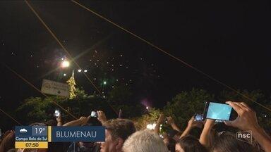 BDSC mostra as festas de Réveillon em Santa Catarina - BDSC mostra as festas de Réveillon em Santa Catarina