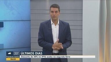 Pagamento em cota única do IPTU de Florianópolis tem desconto de 20% - Pagamento em cota única do IPTU de Florianópolis tem desconto de 20%