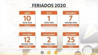 2020 será o ano dos feriadões - Ana Maria comenta a lista dos feriados 'esticáveis' que vão acontecer durante o ano