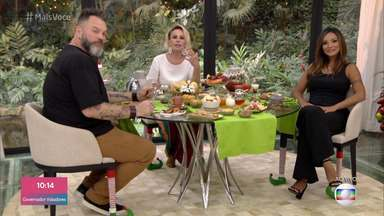 Programa de 02/01/2020 - Ana Maria Braga recebe Jimmy Ogro e Carol Nakamura para falar sobre a viagem da dupla à Serra da Capivara, no Piauí