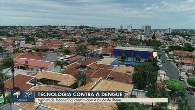 Agentes de Jaboticabal contam com drone para o combate à dengue - Chuvas elevam preocupação para maior incidência de focos do mosquito transmissor.