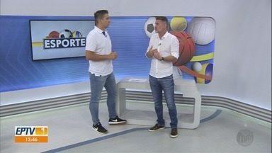 Técnico Wagner Lopes comenta sobre projetos do futebol - Bate-papo foi descontraído.