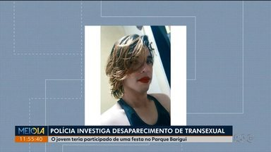 Polícia investiga desaparecimento de transexual - Jovem teria participado de uma festa no Parque Barigui.