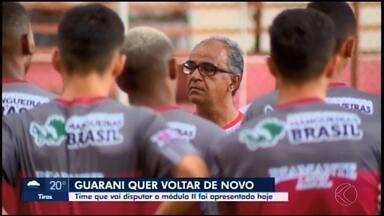 Guarani-MG apresenta elenco de 23 atletas para disputa do Módulo 2 do Mineiro - Bugre será comandado pelo técnico Wantuil Rodrigues na divisão de acesso à elite estadual