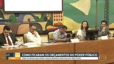 Veja como ficaram os orçamentos do poder público para 2020 - Veja as áreas que terão menos dinheiro este ano em São Paulo.
