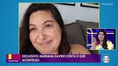 Mariana Xavier fala sofre sua recuperação, após cirurgia - Confira o que está rolando na nuvem de palavras