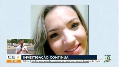 Polícia continua investigando assassinato de grávida em Juazeiro do Norte - Saiba mais no g1.com.br/ce