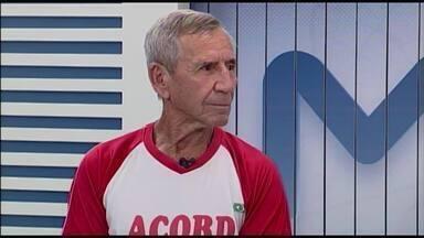 Corredor de 80 anos de Itapecirica fala dos desafios após bom resultado na São Silvestre - Antônio Gomes Avelar treina e compete há cinco anos