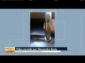 VC no MG: Confira os vídeos enviados pelos telespectadores - Moradores reclamam de falta de iluminação em praça de Valadares.