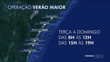 Confira a programação de verão para o litoral do Paraná - Atividades vão de terça a domingo.