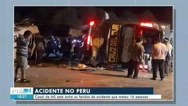 Casal de MS está entre os feridos de acidente que matou 16 pessoas - Casal de MS está entre os feridos de acidente que matou 16 pessoas