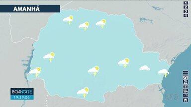 Temperatura máxima em Londrina deve chegar aos 30º nesta quarta-feira (07) - O tempo permanece instável na região, com possibilidade de chuva.