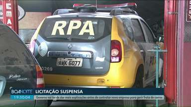 Tribunal de Contas suspende licitação relacionada a frota de carros do Paraná - O pregão eletrônico ocorreria hoje (07).