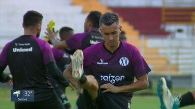 XV de Piracicaba perde goleiro Luís Fernando para o Santa Cruz e têm dois reforços - XV se despede do goleiro, recebe o meia Felipe Cirne e o atacante Marcelinho.