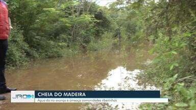 Defesa Civil notifica famílias que estão em área de risco em Porto Velho - Por conta da cheia do Rio Madeira, algumas estradas rurais já estão alagadas. Órgão intensificou vistoria nos locais mais afetados.