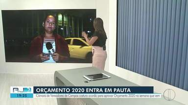 Orçamento de 2020 entra em pauta na Câmara de Vereadores de Campos, RJ - Segundo o presidente da câmara Fred Machado, os vereadores de oposição aceitaram o limite de remanejamento de 20%, ao invés dos 10% como eles queriam, e dos 30% como desejava a prefeitura.