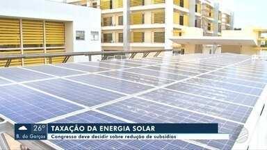 Aneel deve suspender proposta de taxação da energia solar - undefined