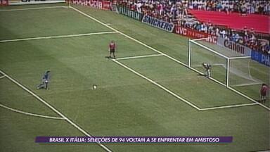 É TETRA! Seleção Brasileira de 94 faz amistoso contra a Itália relembrando título da Copa do Mundo - É TETRA! Seleção Brasileira de 94 faz amistoso contra a Itália relembrando título da Copa do Mundo