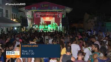 Agenda Cultural: confira as opções de lazer para esta segunda-feira em Salvador - Tem show do Cortejo Afro e Movimento do Beto.
