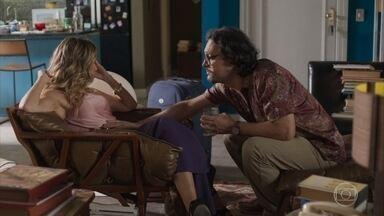 Mário impede que Silvana consuma bebida alcoólica durante a gravidez - A atriz lamenta o acidente com Nana e revela que imaginou seus filhos brincando com os filhos da empresária