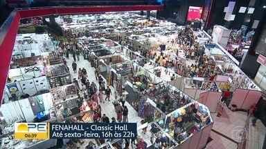 Fenahall mostra um pouco de cada região de Pernambuco - São 250 estandes com novidades e preços atrativos.