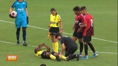 Copinha tem rodada com lesão de juiz e golaços - Copinha tem rodada com lesão de juiz e golaços