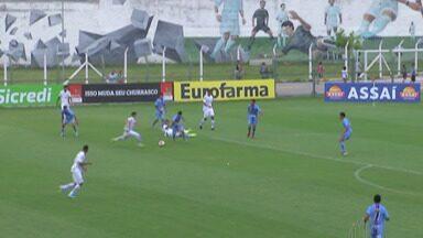 Grêmio busca vaga nas oitavas de final da Copa São Paulo em duelo com a Chapecoense - Partida válida pela terceira fase acontece nesta terça-feira, às 14h45, em Mogi das Cruzes.
