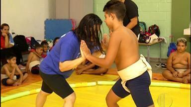 Atleta do sumô de Suzano vai participar de torneio internacional no Japão - Eduardo Almeida foi um dos cinco selecionados de todo o Brasil para representar o país no Japão.