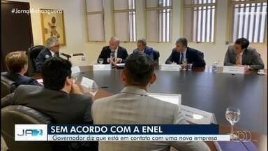 Governo de Goiás se reúne com Enel e Aneel e saem sem acordo sobre crise energética - Outra empresa pode assumir fornecimento de energia em Goiás