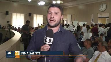 Vereadores de Campos, RJ, começam votaçõa para orçamento de 2020 - Votação iniciou nesta terça-feira (14).