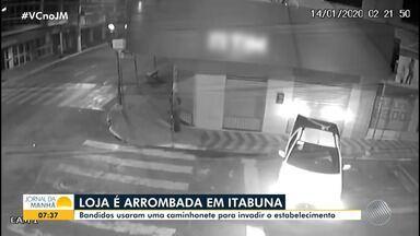 Loja de telefonia celular é arrombada no centro da cidade de Itabuna - Confira.
